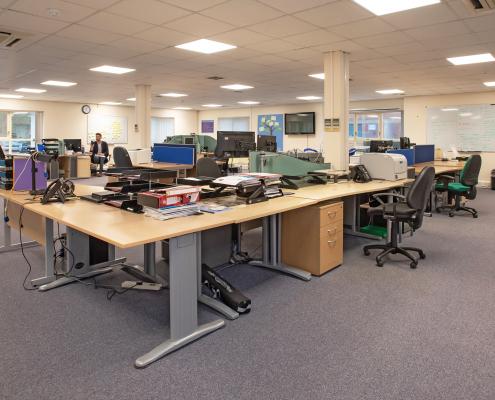 Frontline offices openplan